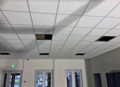 Nieuw plafond!